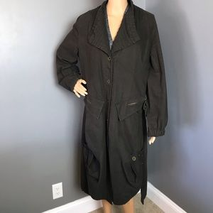 Animale Trench-coat Woman's Brown Size 12